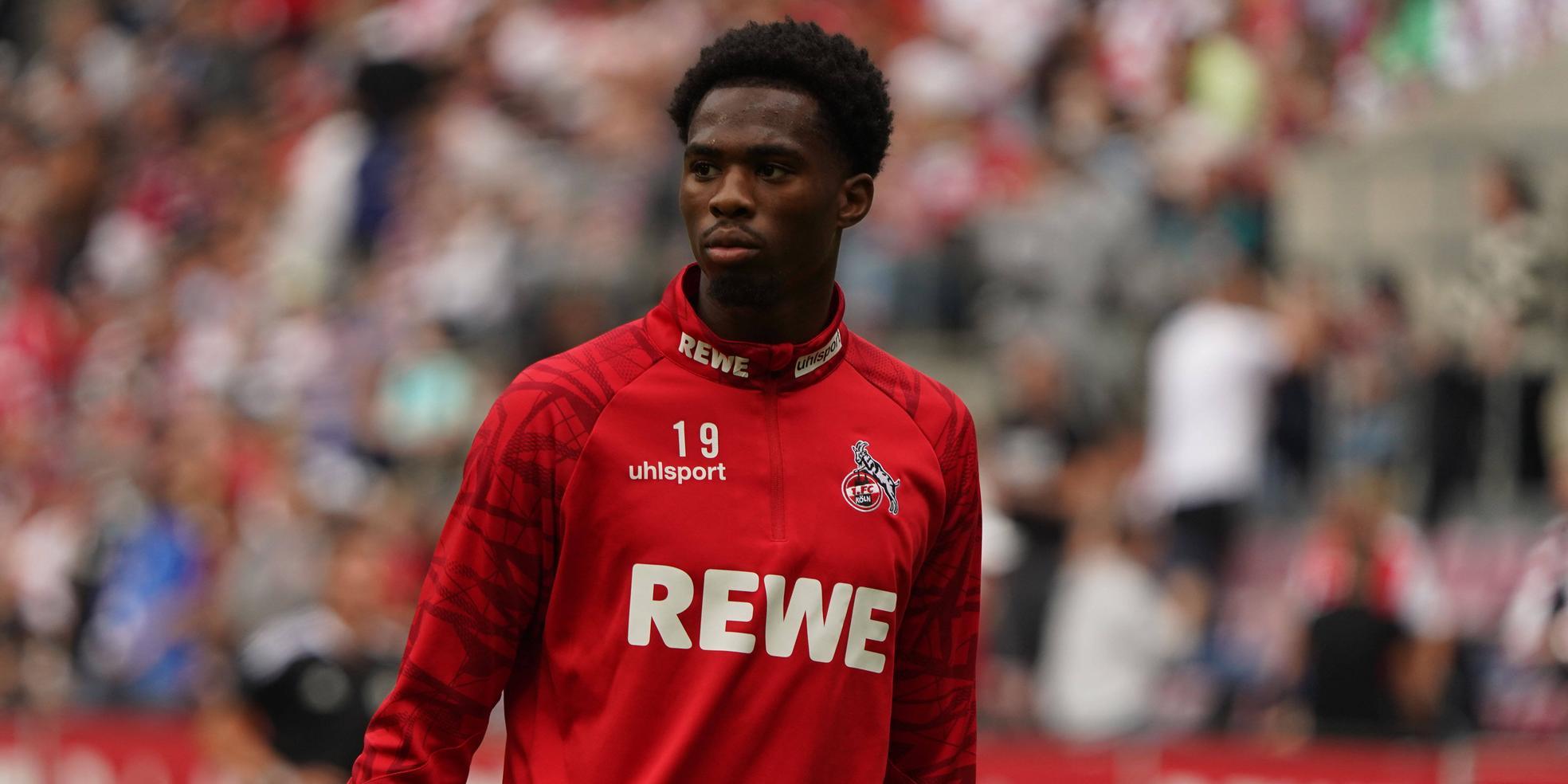 Kingsley Ehizibue vom 1. FC Köln