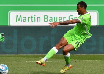Lukas Nmecha vom VfL Wolfsburg