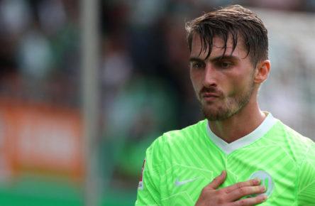 Wartet noch auf sein erstes Saisontor: Maximilian Philipp vom VfL Wolfsburg